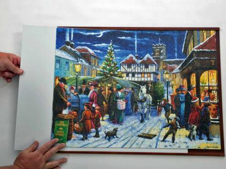 Jigsaw Frames Dark Wood Suitable For Large 500 Piece